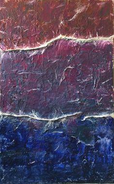 mar de tarda oli sobre paper i tela