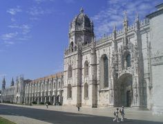 restoration of the Jerónimos Monastery in Lisbon during the 1860s, in which the Manueline monastery gained a new tower and annexes built in Neo-Manueline style