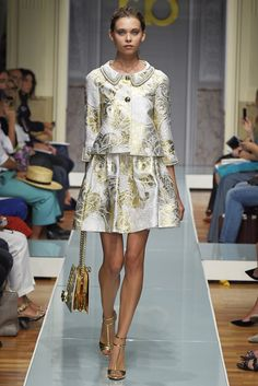 Roccobarocco RTW Spring 2015 - Milan Fashion Week