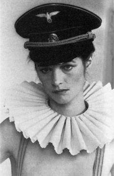Charlotte Rampling in 'Il Portiere di Notte.' (The Night Porter) directed by Liliana Cavani.