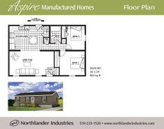 24 X 36 Floor Plans   36' x 24'