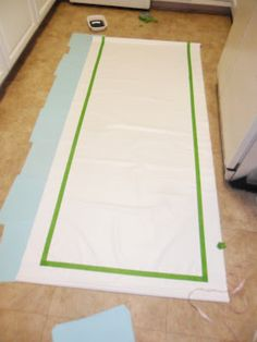 tutorial for painted roller shades.
