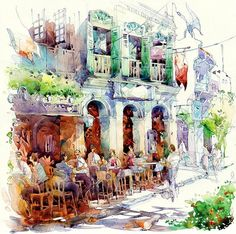 delicious watercolours by jack tia kee woon