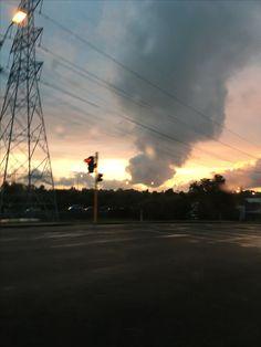 It looks like a tornado 🤔