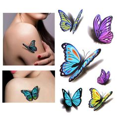 Online Buy Wholesale butterfly tattoo sleeve from China butterfly ...