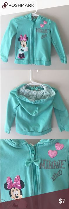 Disney baby hoodie My daughter outgrown it,very cute in a great condition.no stains Disney Jackets & Coats