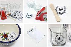 Etikety na dózy, láhve, či sklenice | Kreativní DIY nápad s návodem Container, Ideas, Paper, Thoughts