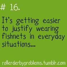 fishnets ftw