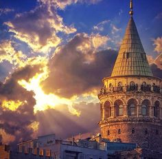 Galata Tower /Turkey All Over The World, Big Ben, Istanbul, Building, Travel, Beautiful, Life, Journey Tattoo, Towers