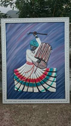 Sisal, Saree Painting Designs, Clay Wall Art, Metal Art Projects, 3d Quilling, Indian Art Paintings, Polymer Clay Art, Mural Art, Tribal Art