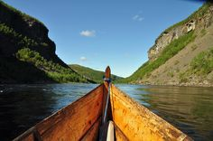 Into the canyon, Altaelva, Norway (Photo: Knut Hansvold/www.nordnorge.com )