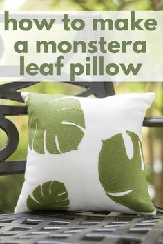 Upload Images to Cricut Design Space and then use your Cricut to cut the Fabric to Make Outdoor Throw Pillows. Outdoor Fabrics make these pillows weather and sun resistant. A Home Decor DIY or a Cricut DIY project to spruce up your front or back porch.