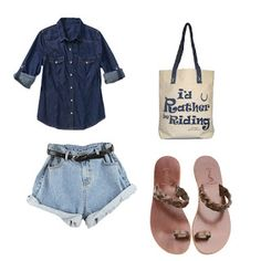 Ippomare. Take It Natural!: Summer feelings  You say denim and what you really...