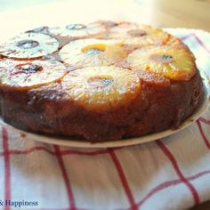 Try Pineapple Upside-Down Cake/Coconut Flour! You'll just need cups coconut flour, 1 cup blanched almond flour, teaspoon unrefined sea salt, Gluten Free Sweets, Paleo Dessert, Gluten Free Baking, Healthy Sweets, Dessert Recipes, Healthy Food, Healthy Recipes, Coconut Flour Recipes, Coconut Milk