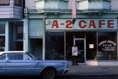 A-2 Cafe, 6am. 1975