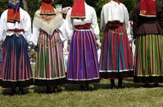 Hiiumaa Costumes Around The World, Folk Costume, Ethnic Fashion, Traditional Outfits, 7 Continents, Textiles, African, Culture, Evolution