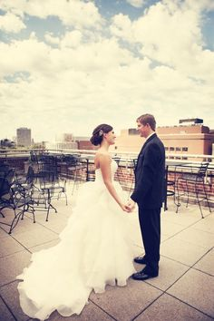 Love this location! // Photo by Danielle. #minneapolisweddingphotography #weddingphotography