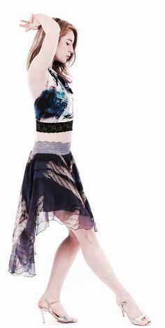 luxury handmade tango clothes www.poemaclothing.com | argentine tango | tango skirt