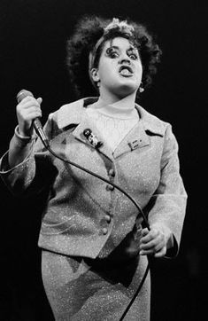 Poly Styrene of X-Ray Spex. Original and deeply missed.