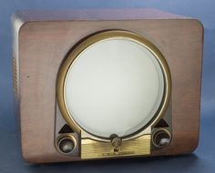 The Donald Fleming Collection of North American television receivers: Zenith 'porthole' tabletop television receiver, Vintage Television, Television Set, Lps, Vintage Appliances, Tv Sets, Retro Radios, Antique Radio, Home Tv, Vintage Tv