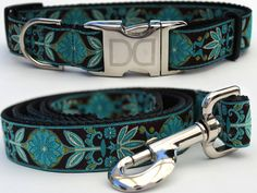 Many styles and patterns available in our online store-Dog Collar and leashes