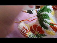 Tunus işi ön anlatımı ikinci yarısı - YouTube Tunisian Crochet Patterns, Knit Crochet, Crochet Slippers, Stitch, Knitting, Croatia, Crafts, Youtube, Tunisian Crochet