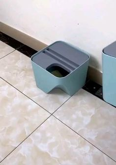 Kitchen trash can recycle bin stacked sorting trash bin household dry and wet separation waste bin rubbish blue kitchen trash 9 beyond easy bathroom cleaning hacks to destroy disgusting stains