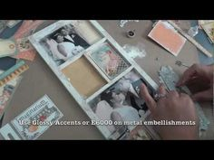 """Graphic 45: """"Place in Time"""" Altered Photo Tray Tutorial - YouTube"""