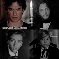 TVD [7x07] Their dad was such an asshole — Damon or Stefan?