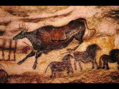 Palaeolithic Cave Painting Lascaux                              …