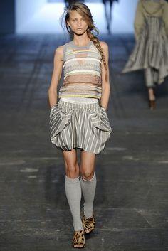 Alexander Wang Spring 2010 Ready-to-Wear Fashion Show - Anna Selezneva