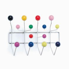 Hang It All Appendiabiti Multicolor  #vitra #design #decor #interiordesign #rayeames #shoppingonline #inarchivio