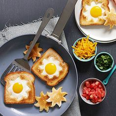 Sunshine Toast with Bacon and Tomatoes From Better Homes and Gardens, ideas and improvement projects for your home and garden plus recipes and entertaining ideas.