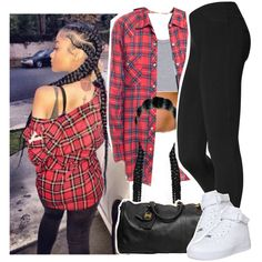 Novacane by kiaratee on Polyvore featuring Hue, NIKE and Chanel
