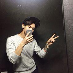selca, korean boy, and instagram image