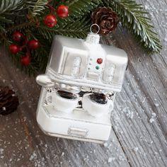 Espresso Machine Ornament | Sur La Table