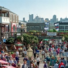 Pier 39 is a must-see when you're in San Francisco! #USA #SF