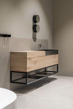 The completeness of imperfection. The code Moab 80 Bathroom Interior Design, Kitchen Interior, Bathroom Inspiration, Interior Inspiration, Bathroom Ideas, Bathroom Toilets, Interiores Design, Home Renovation, Modern Bathroom