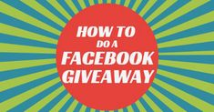 How to do a Facebook Giveaway by Rignite