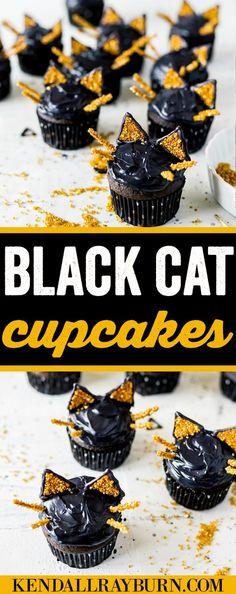 Black Cat Cupcakes!