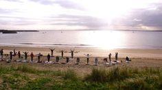 Yoga on Mullaghmore Beach  www.sligotourism.ie
