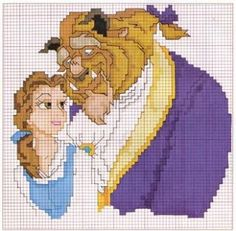 Charms in point cross: the disney princesses cross stitch/ca Disney Cross Stitch Patterns, Cross Stitch For Kids, Counted Cross Stitch Patterns, Cross Stitch Charts, Cross Stitch Designs, Beaded Cross Stitch, Crochet Cross, Cross Stitch Embroidery, Embroidery Patterns