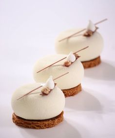 Discover recipes, home ideas, style inspiration and other ideas to try. Fancy Desserts, Köstliche Desserts, Plated Desserts, Dessert Recipes, Patisserie Fine, Patisserie Design, Cupcakes, Beautiful Desserts, Pastry Shop