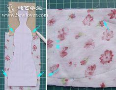 Mimin Dolls: Tilda vestido floral