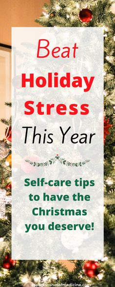The joy of the holidays, also brings the stress of the holidays. Try these 10 health self-care tips to reduce holiday stress and enjoy the Christmas season! From Dr. Sonja Adzovic