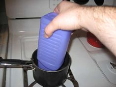 How to remove the cap on a Swiffer Wet-Jet bottle (to refill with whatever cleaner you want!)