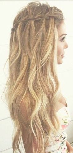 Summer Braids :: Beach Hair :: Natural Waves :: Long  Blonde  :: Messy Manes :: Free your Wild :: See more Untamed DIY Simple  Easy Hairstyle Tutorials  Inspiration @untamedorganica