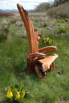 fiddle head throne