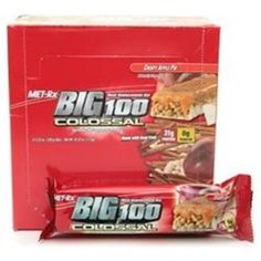 I'm learning all about Met-rx Big 100 Colossal Meal Replacement Bars Crispy Apple Pie at @Influenster!
