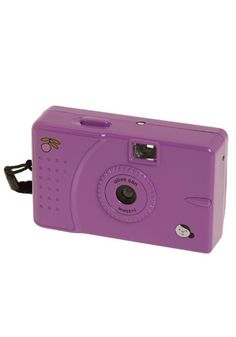 Purple, real film camera. Yes, please!